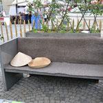 Gartenbank aus Eisen