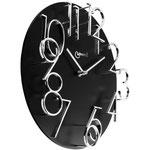 Orologio da Parete al Quarzo con Numeri Metallo in Rilievo Diam. cm 32