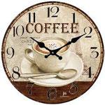Orologio da Parete in Vetro Diam. cm 33