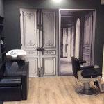 Salon de coiffure relooké par Cote & Déco