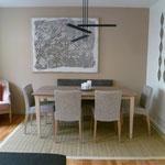 Votre salle à manger - cuisine relookée à partir d'un projet 3D