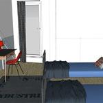 Projet décoration intérieure personnalisée chambre enfant