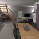 Votre projet de décoration intérieure personnalisé en 3D