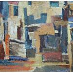 barvne stopnice, olje, 70x89cm 2001 p.l.