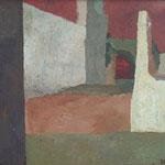 Ruševine pekla, akril na platno, 71x81,5cm 1999.