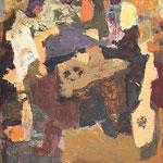 Kosi Krasa/ Pieces of Karst, olje na platno, 100x80,5 2005 p.l.