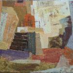 Jutro med ruševinami, olje na platno, 80x100cm 2002