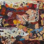 apokalipsa, olje, 60x120cm 2007