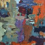 Olivne stopnice , olje na platno, 35x30cm 2004