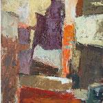 Barvana soseska, olje na platno, 46x36cm2003