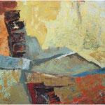 Barvno stopnišce , olje na platno,75x85cm2002. p.l.