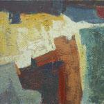 pod gredo, olje les, 35,5x46 2001