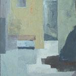 Svetlo v spodnjem Kobdilju, olje na platno, 55x44,5cm 1999