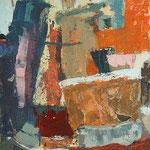 Barve med ulicami, olje na platno, 45x36cm 2003