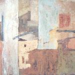 Obsijani zidi, olje na platno, 69x80cm 2000 p.l.