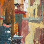 Ulica v Piranu , olja na platno,70x50cm 2004