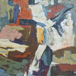 prekrizano krasko vzdusje, olje, 75x81 2001