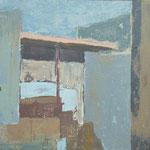 Gabrje balkon, olje na platno, 60x80cm 2000