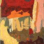 Škocjan III/ Škocjan, olje na platno, 2005 p.l.