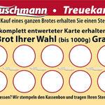 Vorderseite Treuekarte | Tuschmann