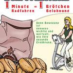 Radeln für Brötchen | Aktion | Zimmermeier und Delta Studios