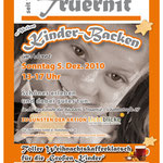 Plakat DIN A1 | Kinder-Backen Aktion | Truernit