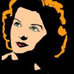 Portrait   werbetechnisch umgesetzt   Popart   Verhärtung   Illustration