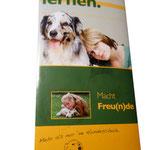 Hundeschule | Infoflyer mehrseitig | Altarfalz | Hunderstanding