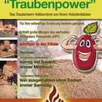 Plakat DIN A1 | Traubenkernbrot | Bäckerei Zimmermeier | Ahlen