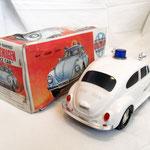 Beattle Volkswagen – POLICE -  Marca ALPS - Giocattolo Giapponese – epoca 1970