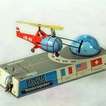 090.Remote Control Helicopter  - Marca BILLER -Made in Western Germany -1953