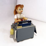 Miss Friday THE TYPIST - T.N. Japan - epoca 1955/60