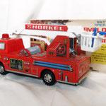 Marvelous Fire Engine   -  Marca YONEZAWA  - Giocattolo Giapponese – epoca 1965