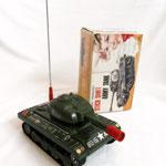 Army Tank -  Marchio NOMURA - Giocattolo Giapponese – epoca 1970