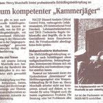 HMS Protect Schädlingsbekämpfung - Wochenblatt Hockenheim 2011