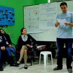 Presentation about outcomes of case studies on social entrepreneurship.
