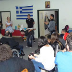 Event in care center for disabled people of Ioannina - talent contest