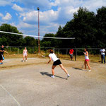 Competition of badminton