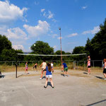 Competition of volley ball