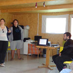Greek participants present Youth Center of Epirus and ancient Greek inventors