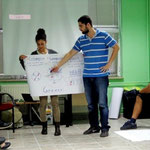 Participants of Greek group represents some examples of social entrepreneurship and social projects in Greece