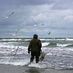 Bernsteinfischer in Prerow - Nordstrand