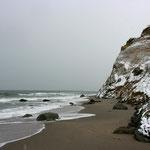 die Ahrenshooper Steilküste