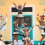Auch die Teenygarde hatte perfekt einstudierte Tänze zu bieten.