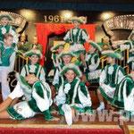 Akrobatisch und tänzerisch gut: die Mädchen der Kindergarde.