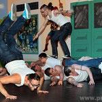 Die Elfer-Dance-Boys begeisterten mit einem spektakulären Rock'n'Roll.