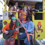 Woodstock 2013 feierten die Hüttenfreunde Ebertsöd.