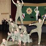 Das Schlussbild der Elfer Dance Formation.