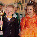 Kleine Regenten: Leon Unrecht und Jessica Seibolt.