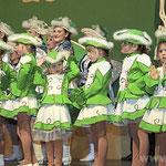 Auch die Kleinsten von der Kindergarde standen in Pocking schon auf der Bühne.